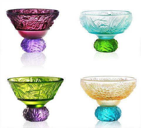 Glassware (Sake Glass, Shot Glass) - A Drink To Virtue (Set of 4)