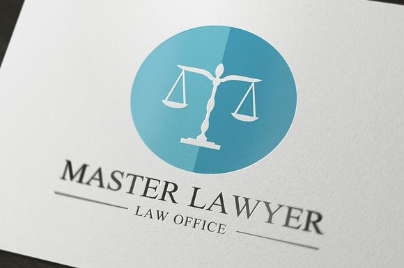 Law Firm Logo by Super Pig Shop on @creativemarket