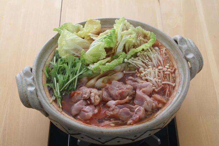 鶏肉の和風トマト鍋 鍋レシピ 鍋なび