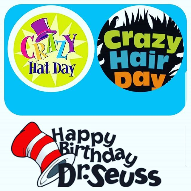 Tomorrow Is Crazy Hat Crazy Hair Day Crazy Hair Days Crazy Hat Day Crazy Hair