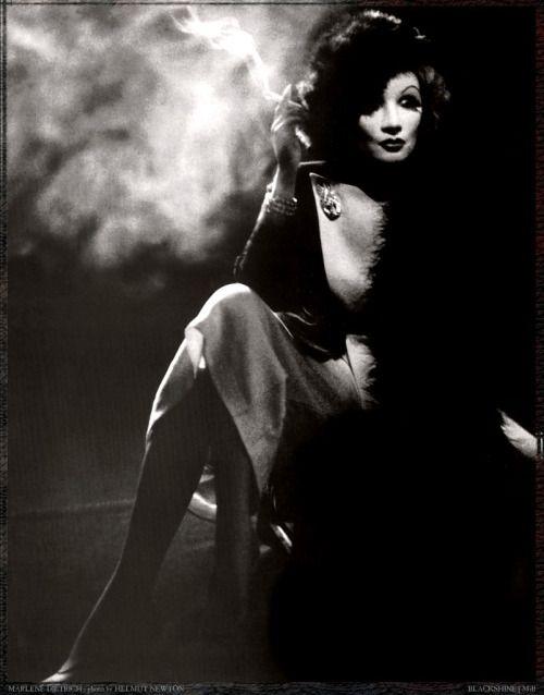 Helmut Newton // 1983 Marlene Dietrich.