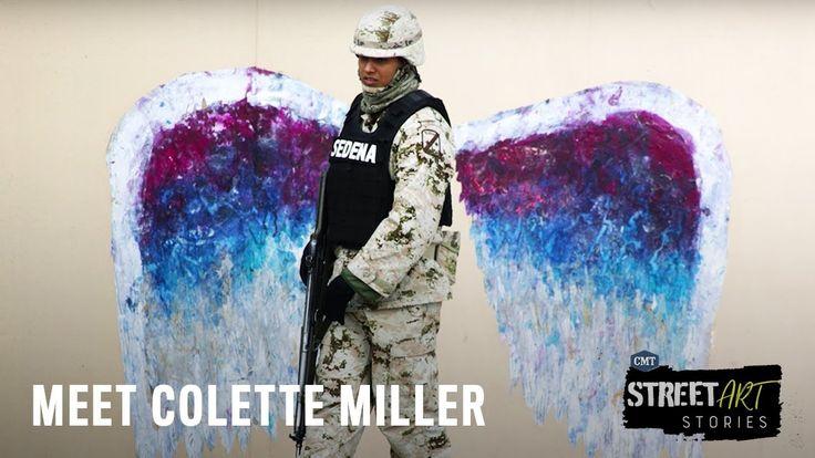 STREET ART STORIES   Colette Miller   - YouTube