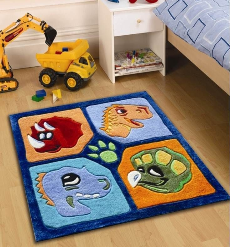 Childrens Play Dinosaur Rugs 90 X Perfect For Any Little Boys Bedroom And Affordable High Quality Pinned Kidfolio The Paing Mobile