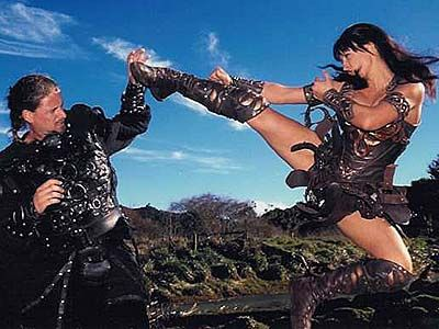 Zoe Bell as Xena | zoe bell  stuntdouble and bad ass