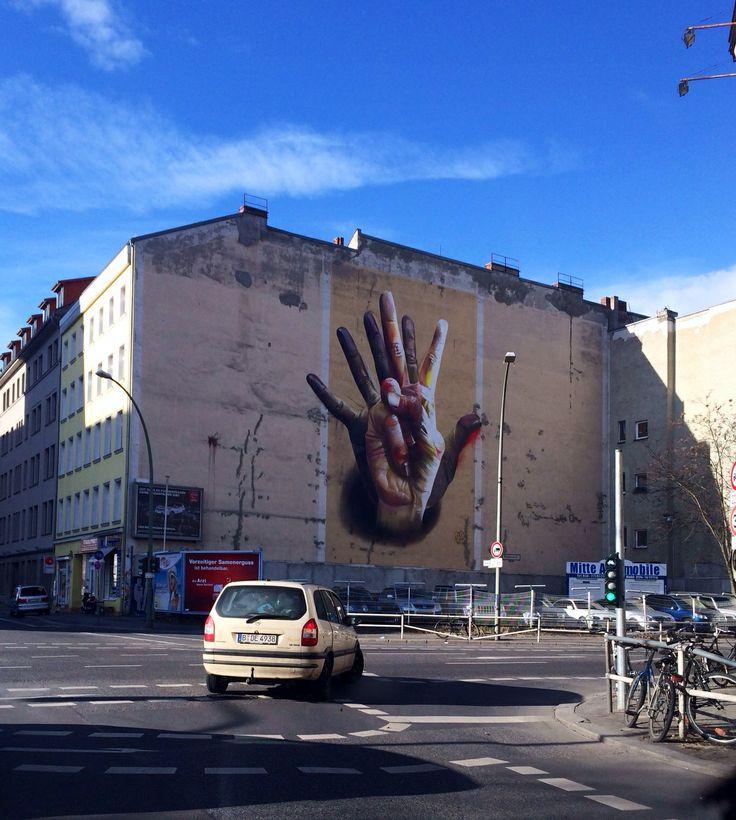 The power of hands in Berlin Kreuzberg