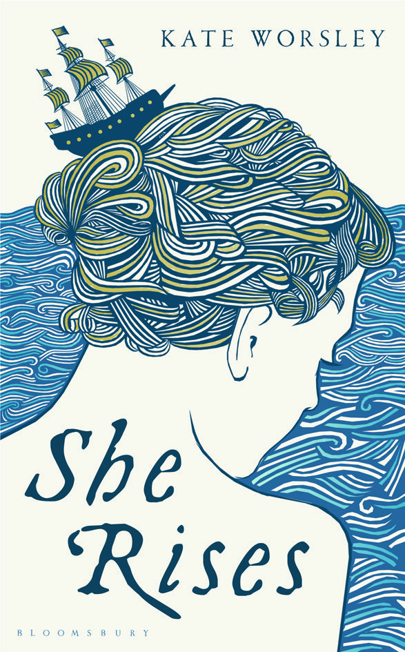 """She Rises"" by Kate Worsley, designed by Holly Macdonald. aka If @Chelan Kelly Designed Book Covers… :D"