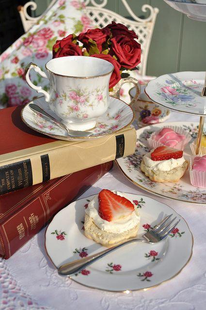 Afternoon Tea Vintage English China   Flickr - Photo Sharing!
