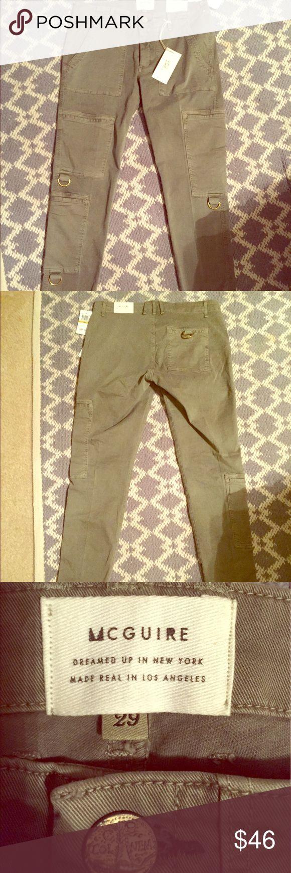 McGuire army green kaki/jeans size 29 McGuire brand...size 29... army green McGuire Denim Jeans Skinny