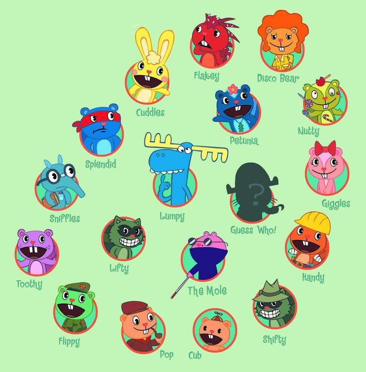 happy tree friends - Google Search