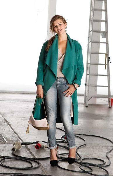 Пальто - выкройка № 127 из журнала 1/2013 Burda – выкройки пальто на…