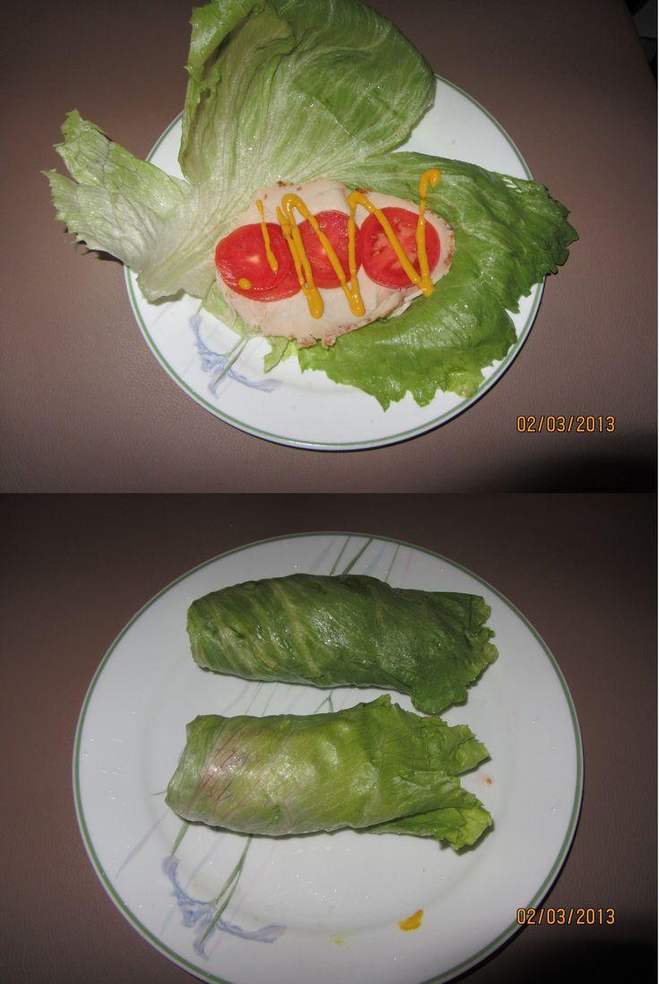 South Beach Diet: Lettuce Wrap- SBD Phase 1
