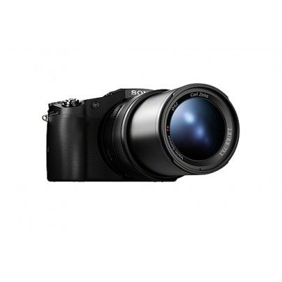 SONY DSC-RX10. Amazing new compact camera with 8.3x zoom lens and 2.8 aperture. Listed #3 at Camera Store's Video Camera of the Year, even tho it's not actually a video camera. Boom.