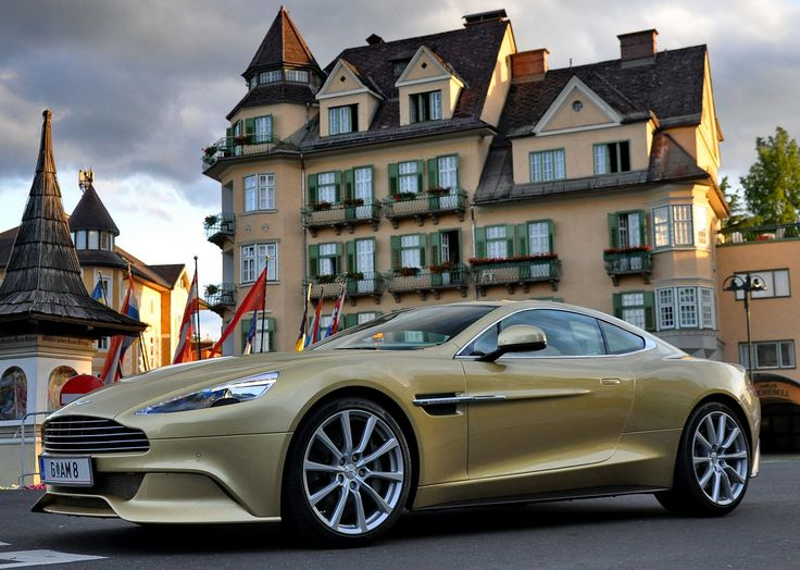 Merveilleux Aston Martin Vanquish
