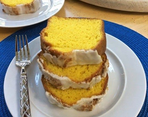 SIMPLY 123 ALLERGY FREE: Lemon Pound Cake With Vanilla Lemon Glaze