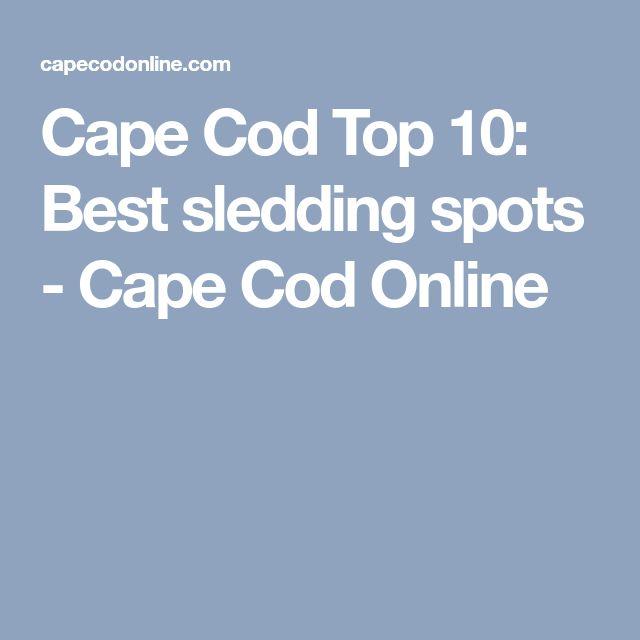Cape Cod Top 10: Best sledding spots - Cape Cod Online