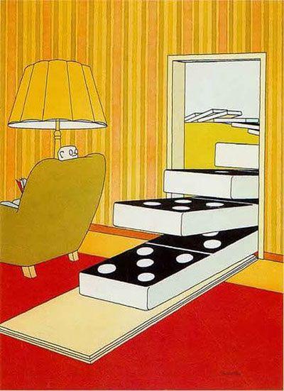 50 Random Images from album :: The Exhibition of Cartoon by Miroslav Bartak/ Czech Republic