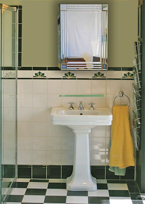 Art Deco Bathroom: 316 Best Images About Small Bathroom On Pinterest
