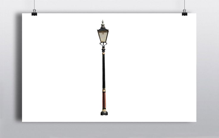 7ft electric street lamp, creates beautiful atmospheric lighting. http://www.prophouse.ie/portfolio/street-lamp/