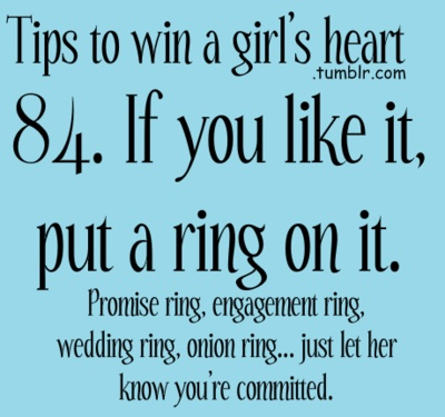 lol onion ring, yeah pretty much anything!