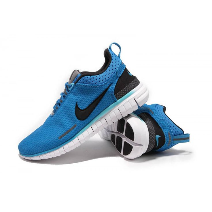 ... Trainers Nike Free OG Breathe Running Shoes Black Blue ...