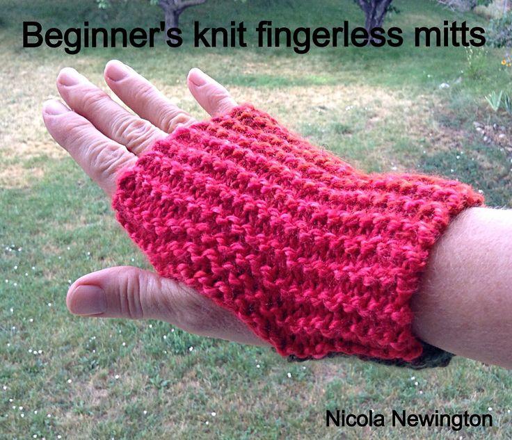 Fingerless Gloves Knitting Pattern Ravelry : 17 Best images about Fingerless Mitts on Pinterest Free pattern, Ravelry an...