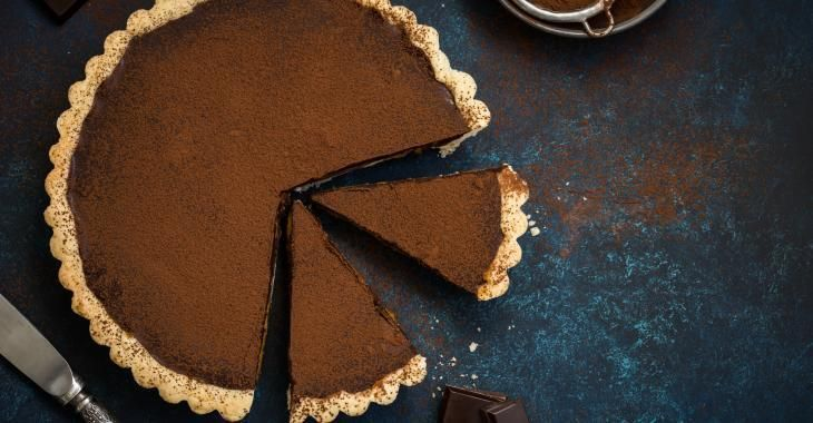 Une tarte au chocolat sensationnelle, prête en quelques étapes simples