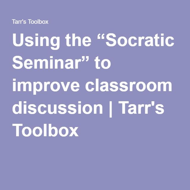 videos bring socratic seminars to the classroom