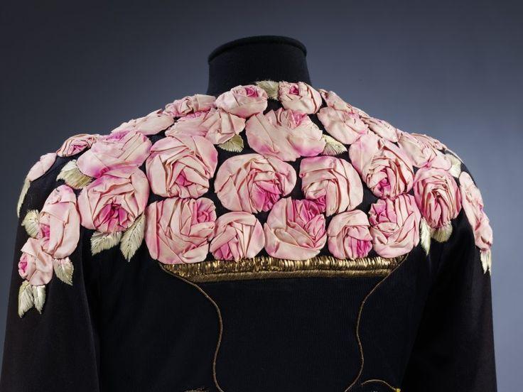 Detail of a 1937 Lesage embroidered Elsa Schiaparelli coat