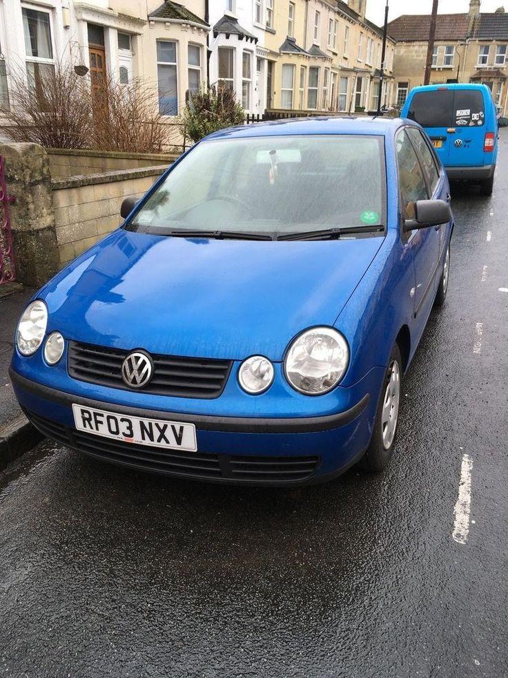 eBay: Volkswagen Polo 2003 1.4L 5 door - requires new clutch (for spares or repairs) #carparts #carrepair