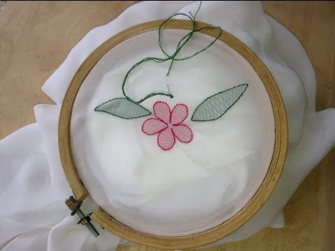 ▶ Basic Embroidery: Shadow Work - YouTube