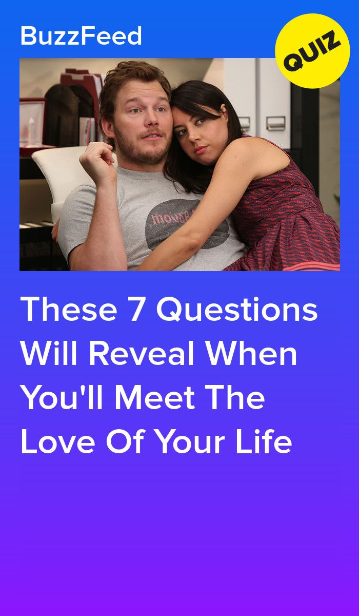 These 7 Questions Will Reveal When You'll Meet The Love Of