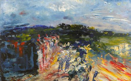Jack B. Yeats 'The Music of the Morning' (1951)
