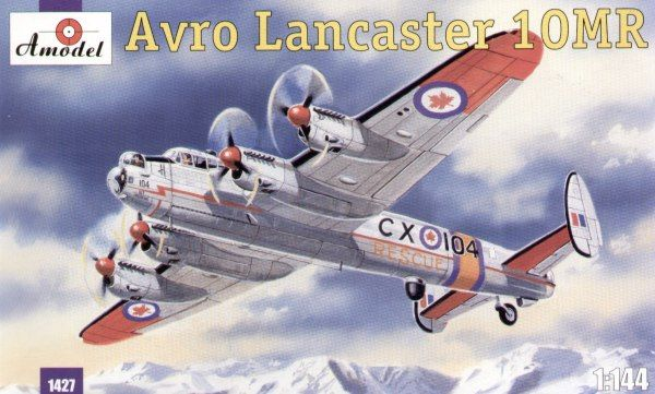 Avro Lancaster Mk.10MR Rescue, Canada Air Force, CX-104. A Model, 1/144, injection, No.1427. Price: 15,12 GBP.