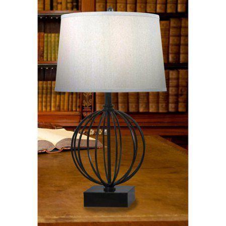 Kenroy Home Globus Table Lamp, Oil Rubbed Bronze