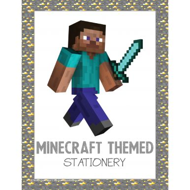 63 best minecraft images on pinterest homeschooling minecraft and minecraft themed stationery publicscrutiny Images