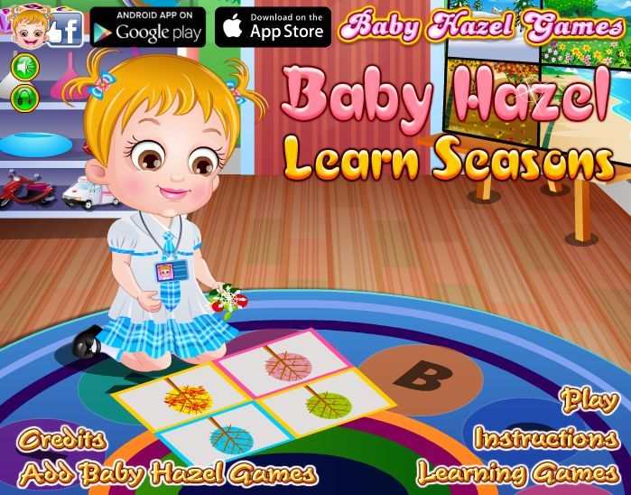 Join Baby Hazel to enjoy fun-filled activities related to four different seasons in a year. http://www.babyhazelgames.com/games/baby-hazel-learn-seasons.html