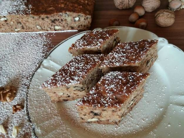Gluténmentes almás-diós süti