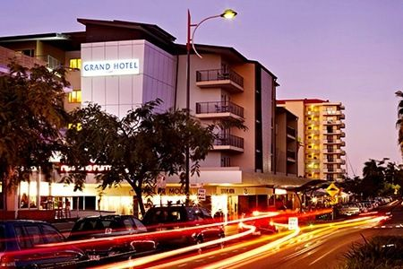 Townsville: From $249 for a Tropical Escape for Four with Late Checkout and Wine at Grand Hotel Townsville.