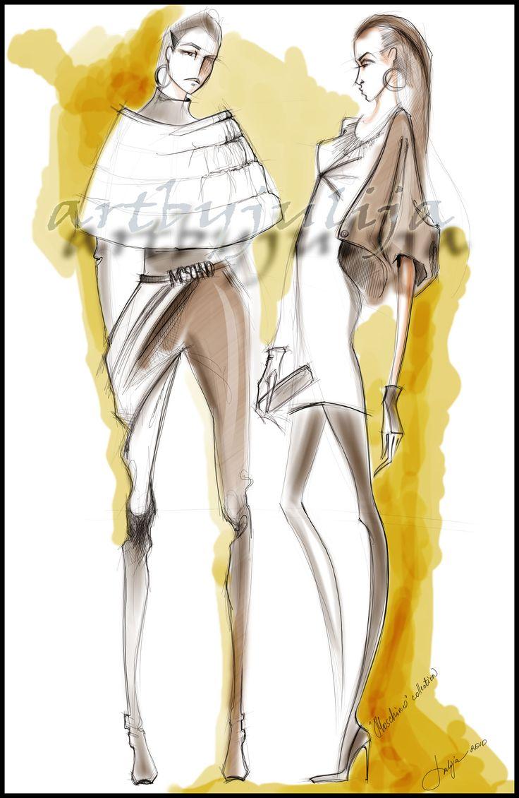 Digital Illustration by Julija Lubgane at Coroflot.com