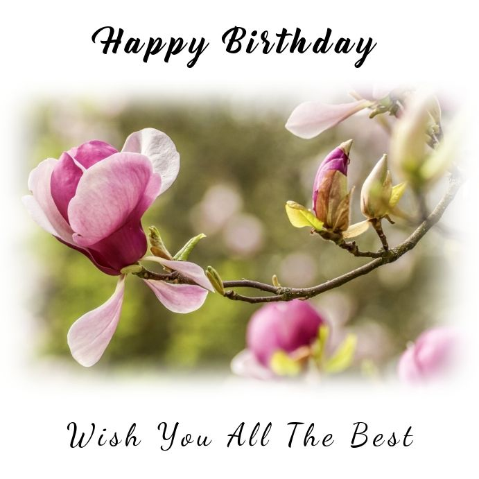 Birthday Instagram Template Birthday Wishes Free Birthday Wishes Happy Birthday Wishes
