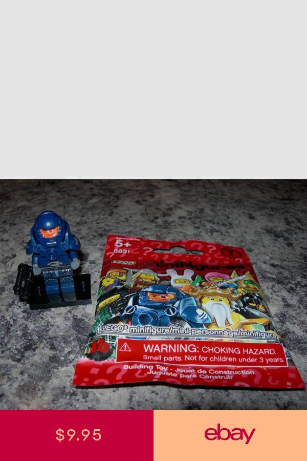 SEALED LEGO Series 7 minifigure GALAXY PATROL 8831 space marine squad police NEW