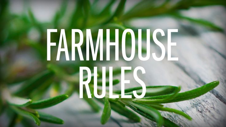 Farmhouse Rules : Food Network - FoodNetwork.com