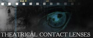 9mm Special Effects Custom Theatrical Contact Lenses