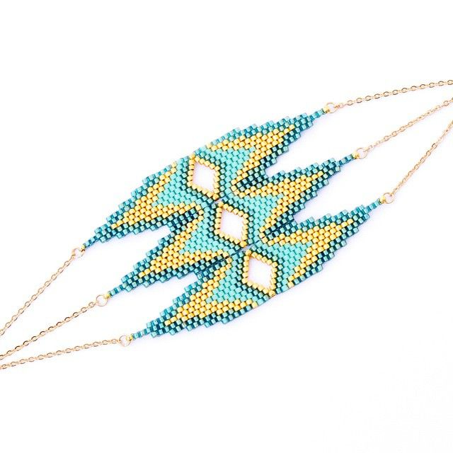 "73 kedvelés, 8 hozzászólás – Marina (@artistic.bracelet) Instagram-hozzászólása: ""Retrouvez dès aujourd'hui la gamme CLEO sur la boutique. Dispo en indigo et or, et en turquoise.…"""
