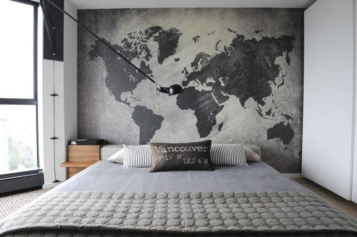 Painel Fotográfico Mapa Mundi Cimento Queimado! Compre em até 3x s/ juros. Vários modelos em diversas categorias. Vinil autocolante, instalação rápida e prática. Transforme sua casa.