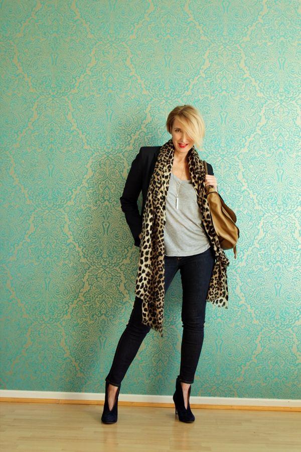 A fashion blog for women over 40 and mature women Jacket + Shirt: Zara Denim: Selfnation CH Bag: Chloé Booties: Ivylee  http://www.glamupyourlifestyle.com/
