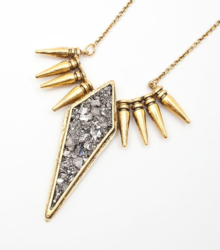 Lady Grey makes a mean yet gorgeous spike, now available at www.catbirdnyc.com