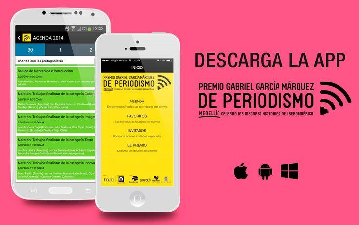 Prográmate con los coloquios del #PremioGGM utilizando la aplicación oficial del evento. Disponible para Android, IPhone y Windows Phone. Descárgala aquí: http://www.fnpi.org/premioggm/app/