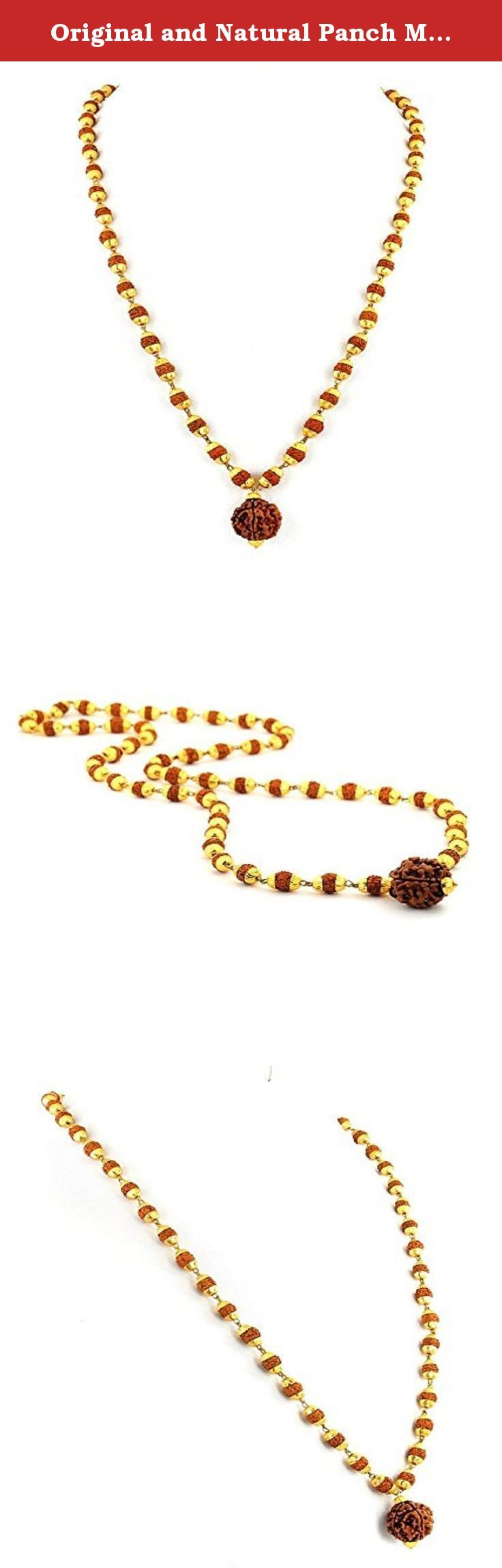 Original and Natural Panch Mukhi Rudraksha Mala. A Rudraksha represents Lord Shiva/ Rudra himself.It is said that it bestows all sorts of salvation & achievement of desired objects.Rudraksha is said to be rich with shakti and calms the kundalini, thus making it easier to rise.Rudraksha is said to open the heart chakra. Japa with Rudraksha mala yields many good results on human body and mind. This improves the blood circulation at eyes, mental nerves, pituitary and pineal and it prevents…