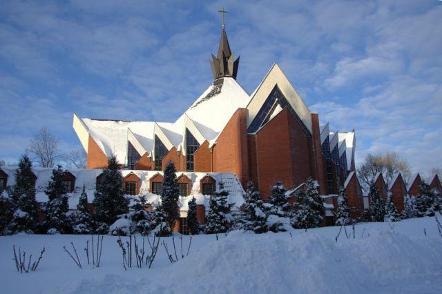 #Klasztor dominikanów w Szczecinie. #dominikanie #szczecin #winter #zima